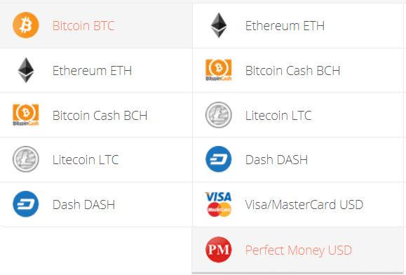 Convert Bitcoin to Perfect Money Exchange Step 1