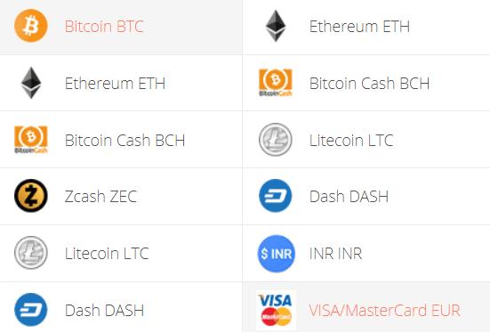 Bitcoin to euro Exchange Step 1