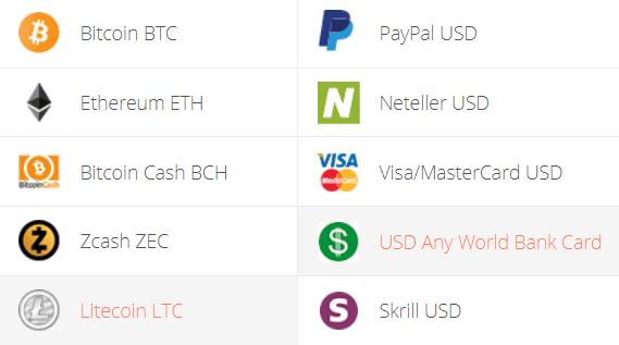 Litecoin to USD Converter Step 1