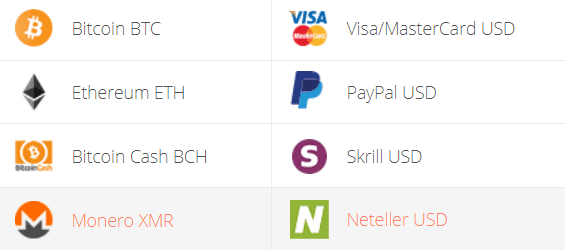 Monero to Neteller Exchange Step 1
