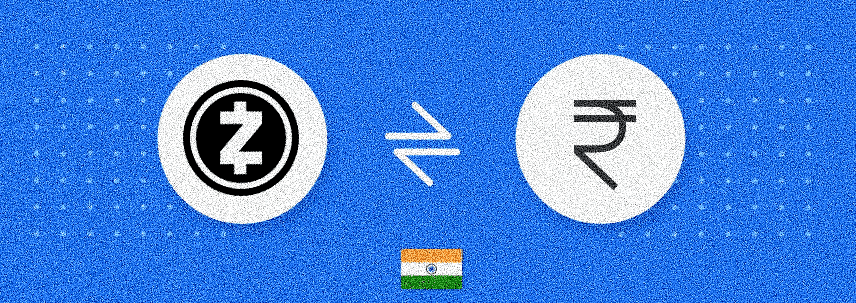 Zcash to INR Converter